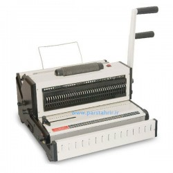 دستگاه صحافی دو کاره فنر دوبل و مارپیچ oven مدل CW2019
